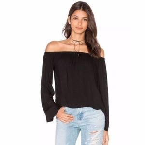 Cloth and Stone Homestead Off the Shoulder Top XS